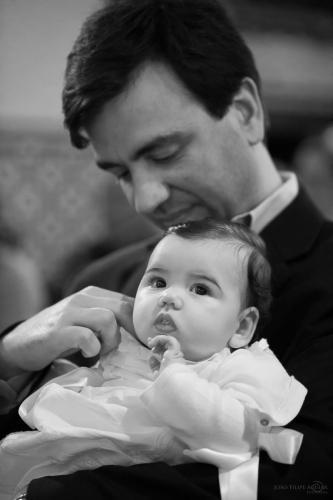 Baptismo Filipa (14.05.2016) - Igreja (P&B) br - 25