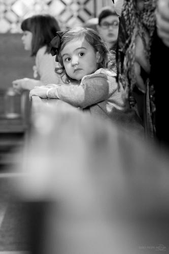 Baptismo Filipa (14.05.2016) - Igreja (P&B) br - 29