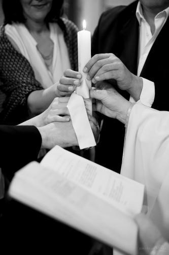 Baptismo Filipa (14.05.2016) - Igreja (P&B) br - 42
